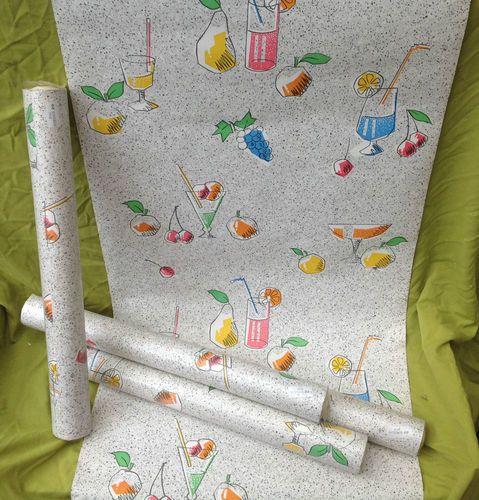 vintage fruit drinks wallpaper WallpaperVintage Pinterest 479x500