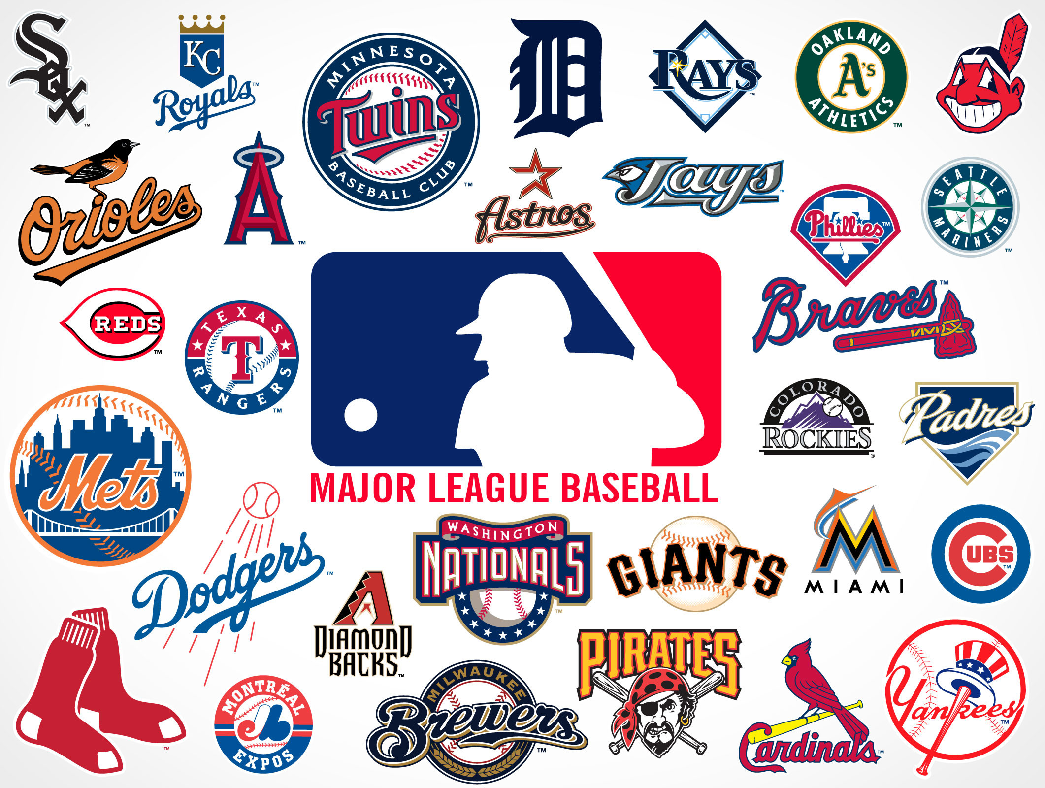 82 Mlb Logo Wallpapers on WallpaperPlay 2122x1600