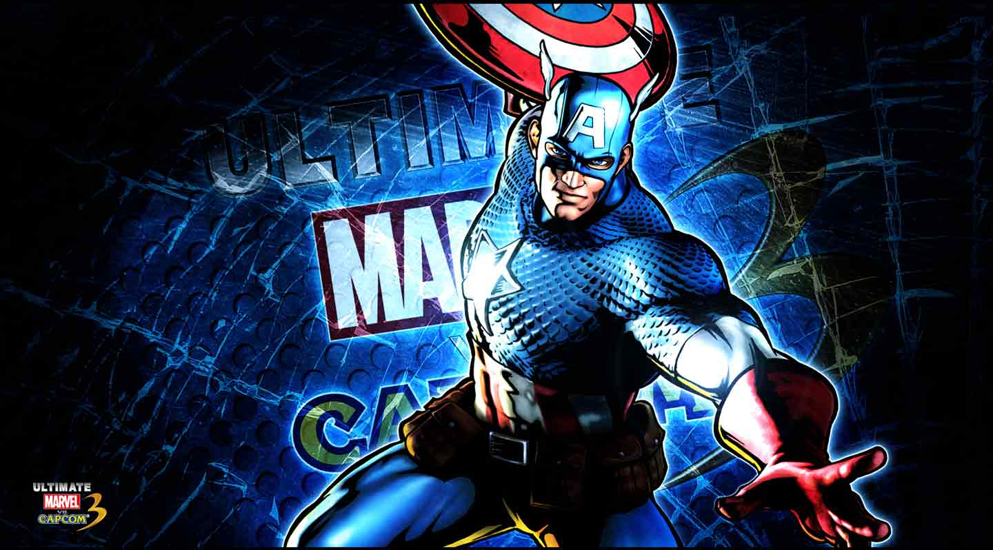marvel wallpaper captain america wallpapersafari. Black Bedroom Furniture Sets. Home Design Ideas