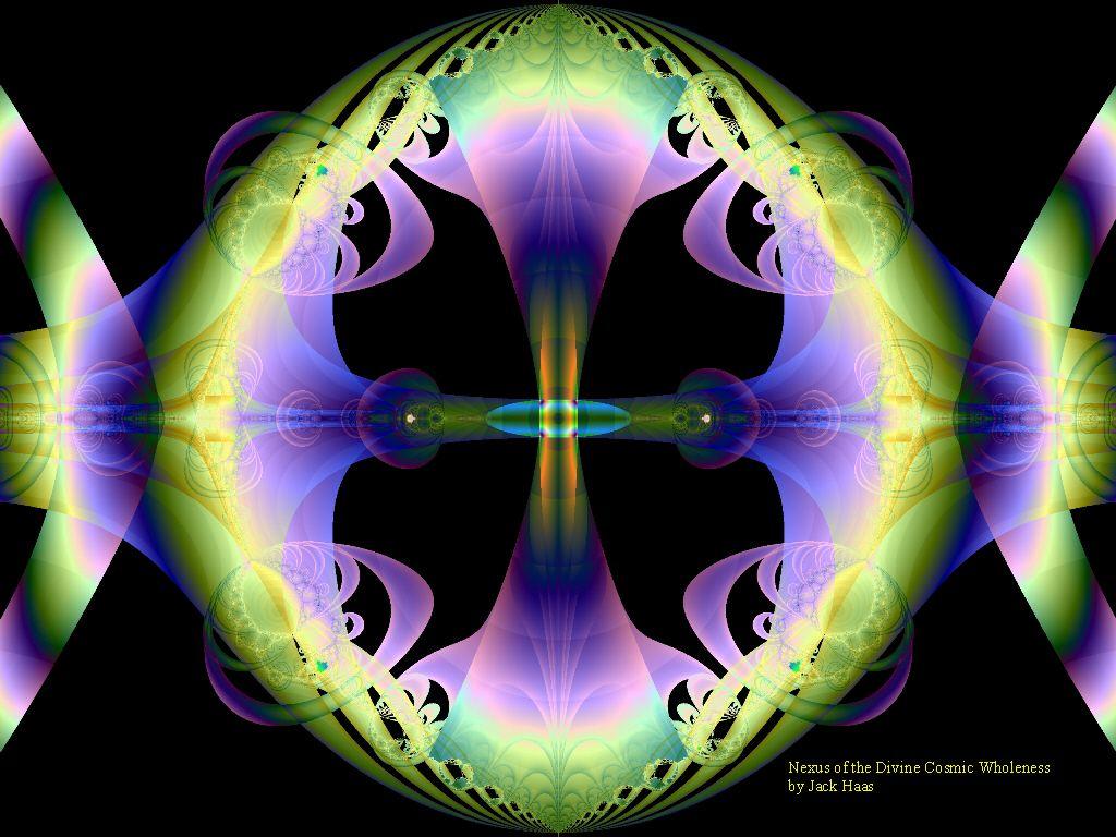 desktop wallpaper   abstract art   Nexus of the Divine 1024x768