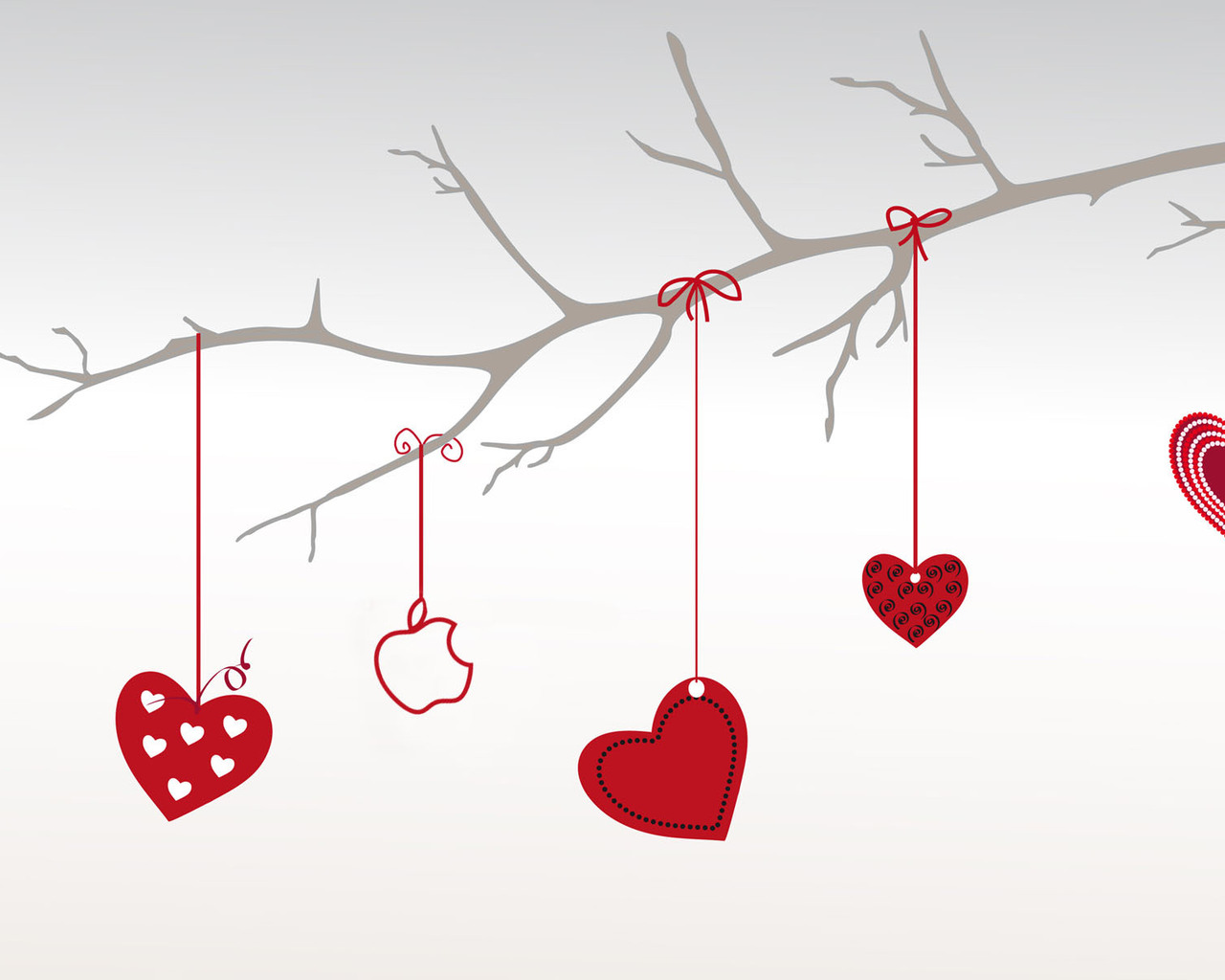 Apple Valentines Day 1280x1024