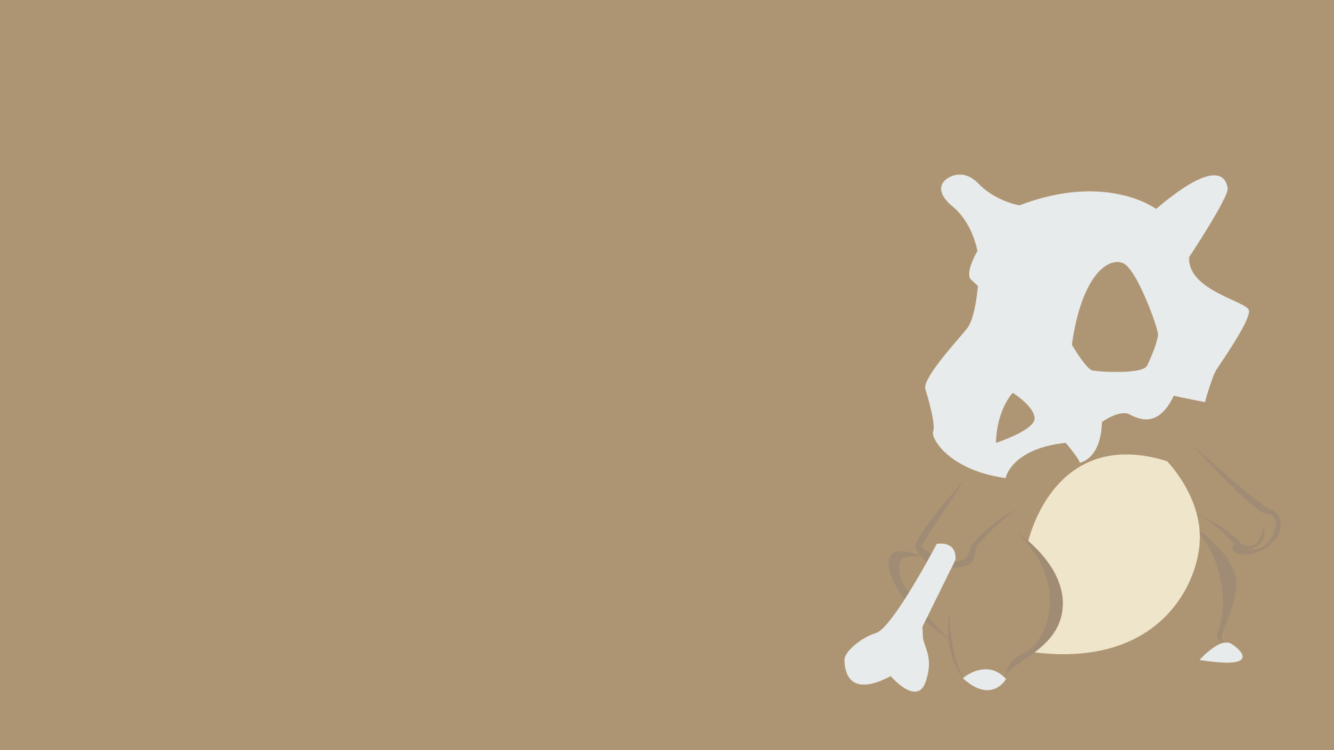 Pokemon Cubone Wallpaper 1920x1080 Pokemon Cubone Marowak 1920x1080