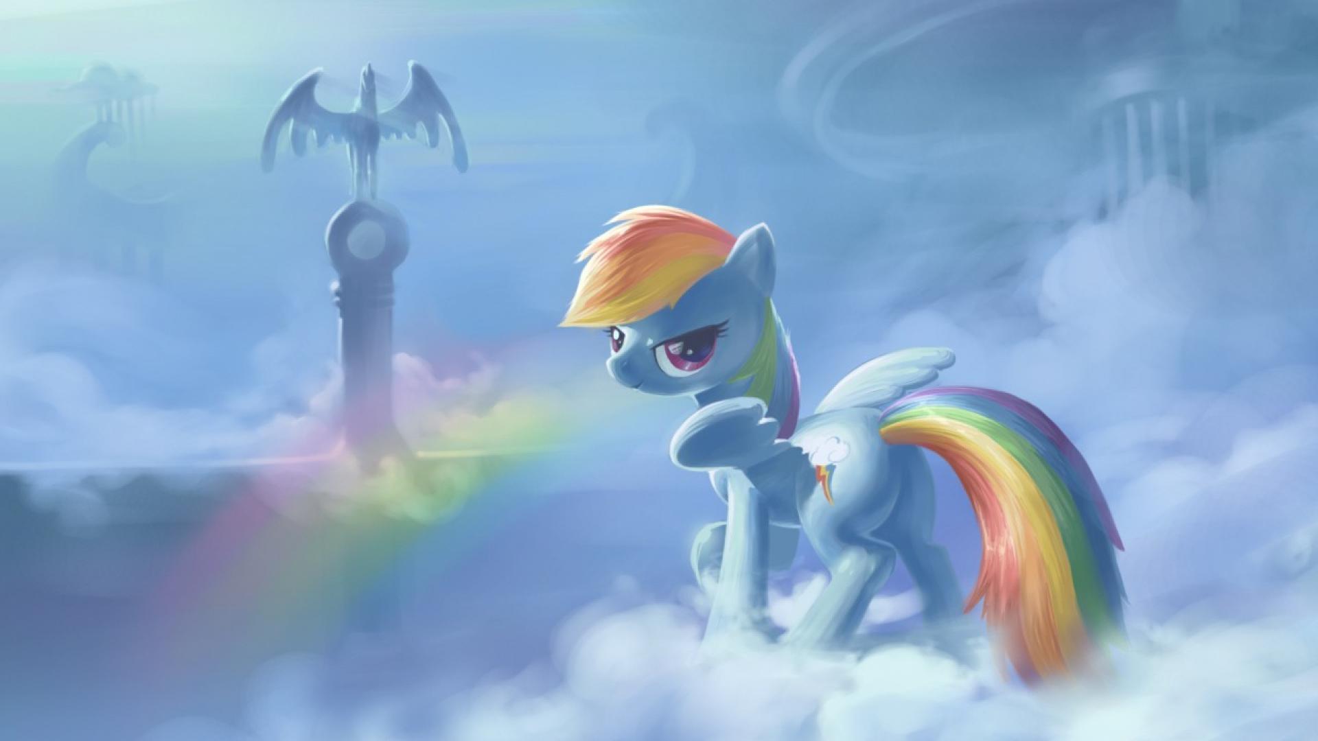 74 My Little Pony Rainbow Dash Wallpaper On Wallpapersafari