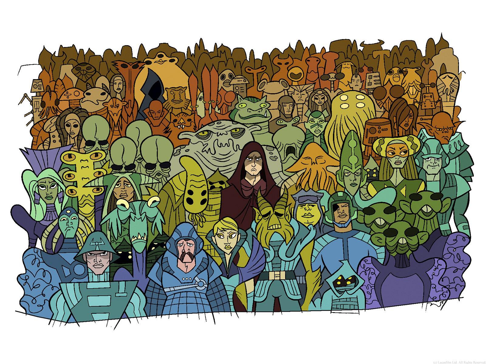 Free Download The Star Wars Trilogy Star Wars Clone Wars Wallpaper
