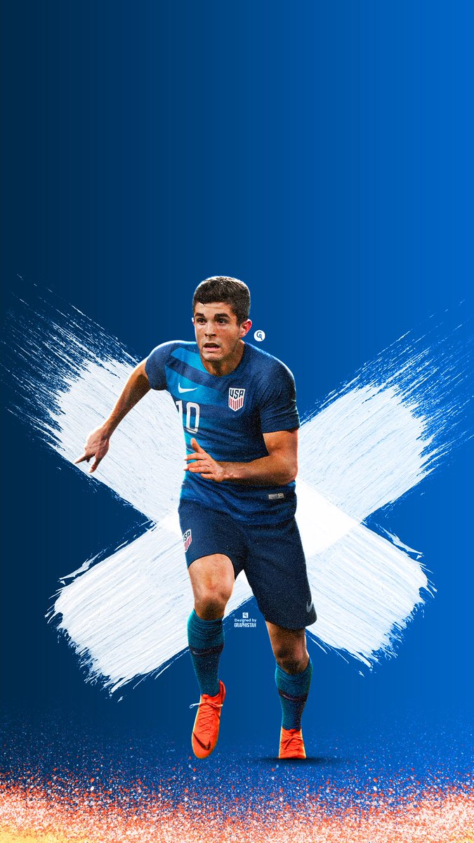Graphistah on Twitter Christian Pulisic Wallpaper Likes and 675x1200