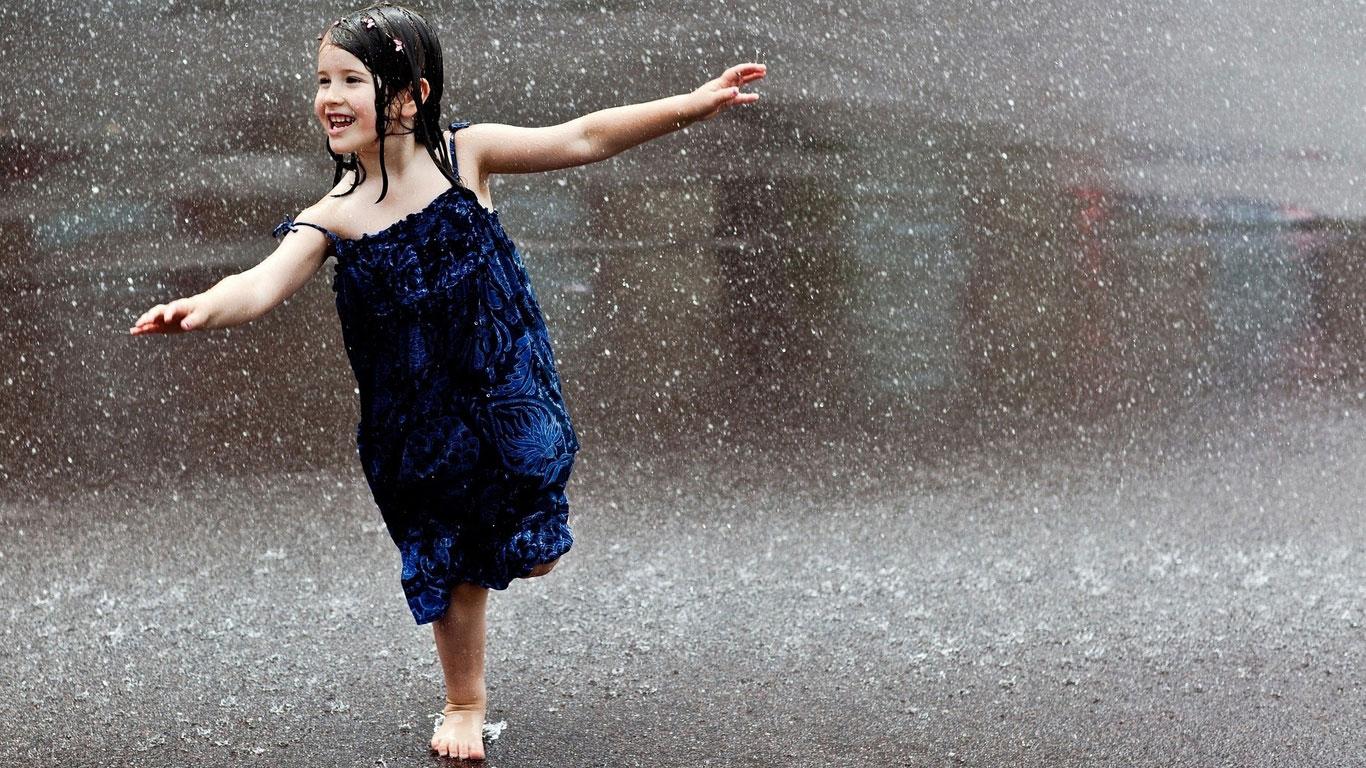 Rain Wallpapers Desktop HD Wallpapers Pictures Images 1366x768