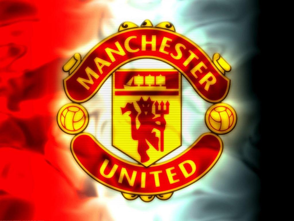 Free Manchester United Logo 3D Wide HD Wallpaper