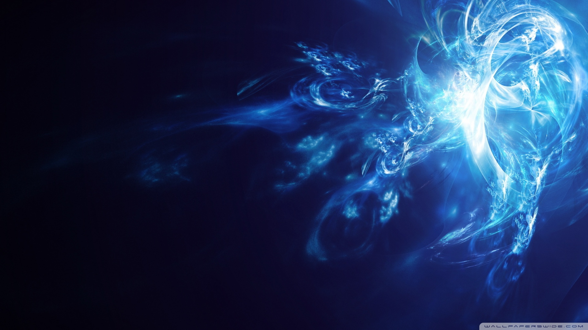 Blue Smoke 2 Wallpaper 1920x1080 Blue Smoke 2 1920x1080