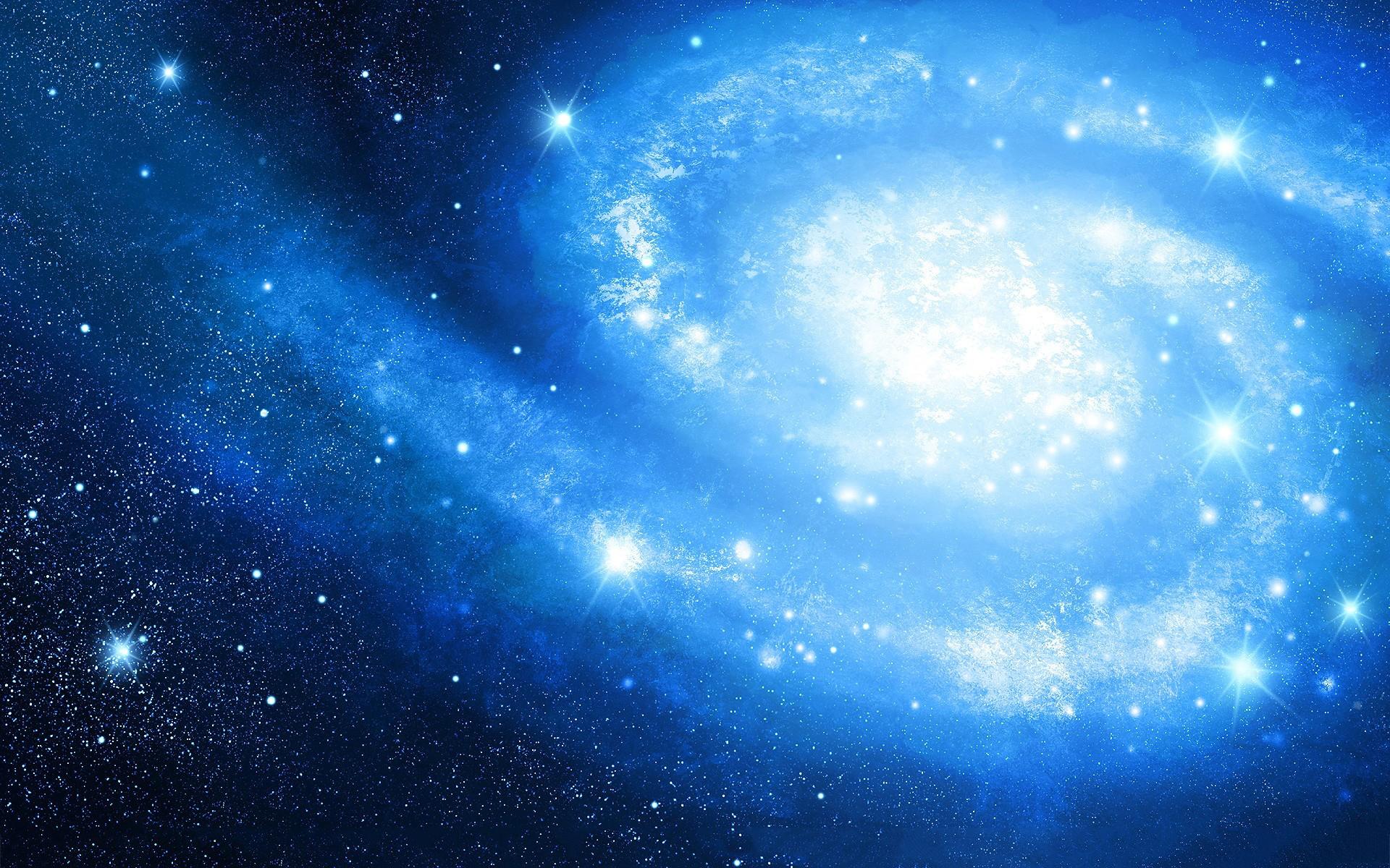 Blue space wallpaper hd wallpapersafari - Blue space hd ...