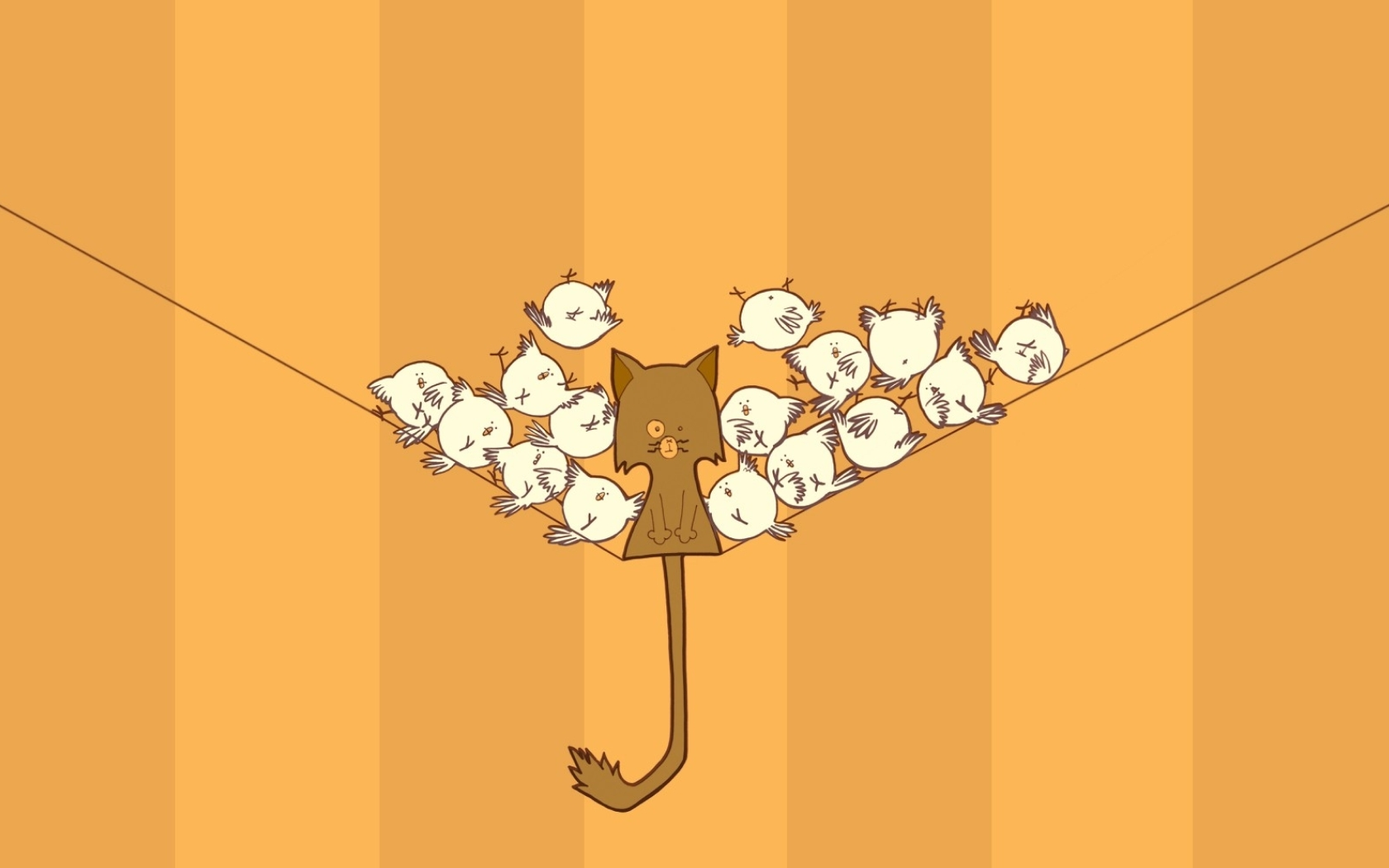 75 Cartoon Cat Wallpaper On Wallpapersafari