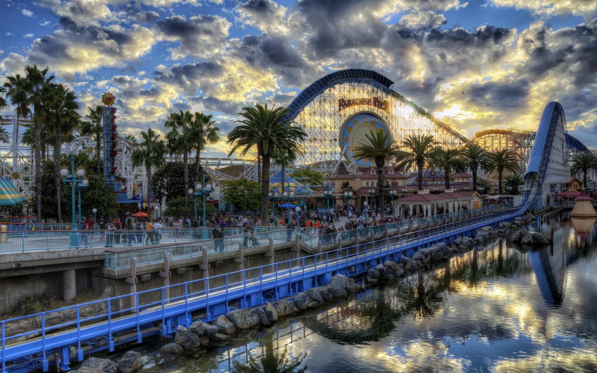 Amusement Park HD Wallpaper Background Image 1920x1200 ID 1920x1200