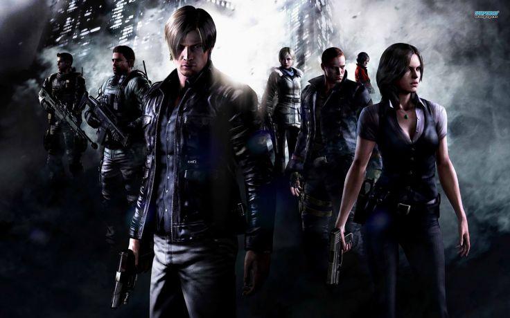 Video games Resident Evil posters Resident Evil 6 screens wallpaper 736x460
