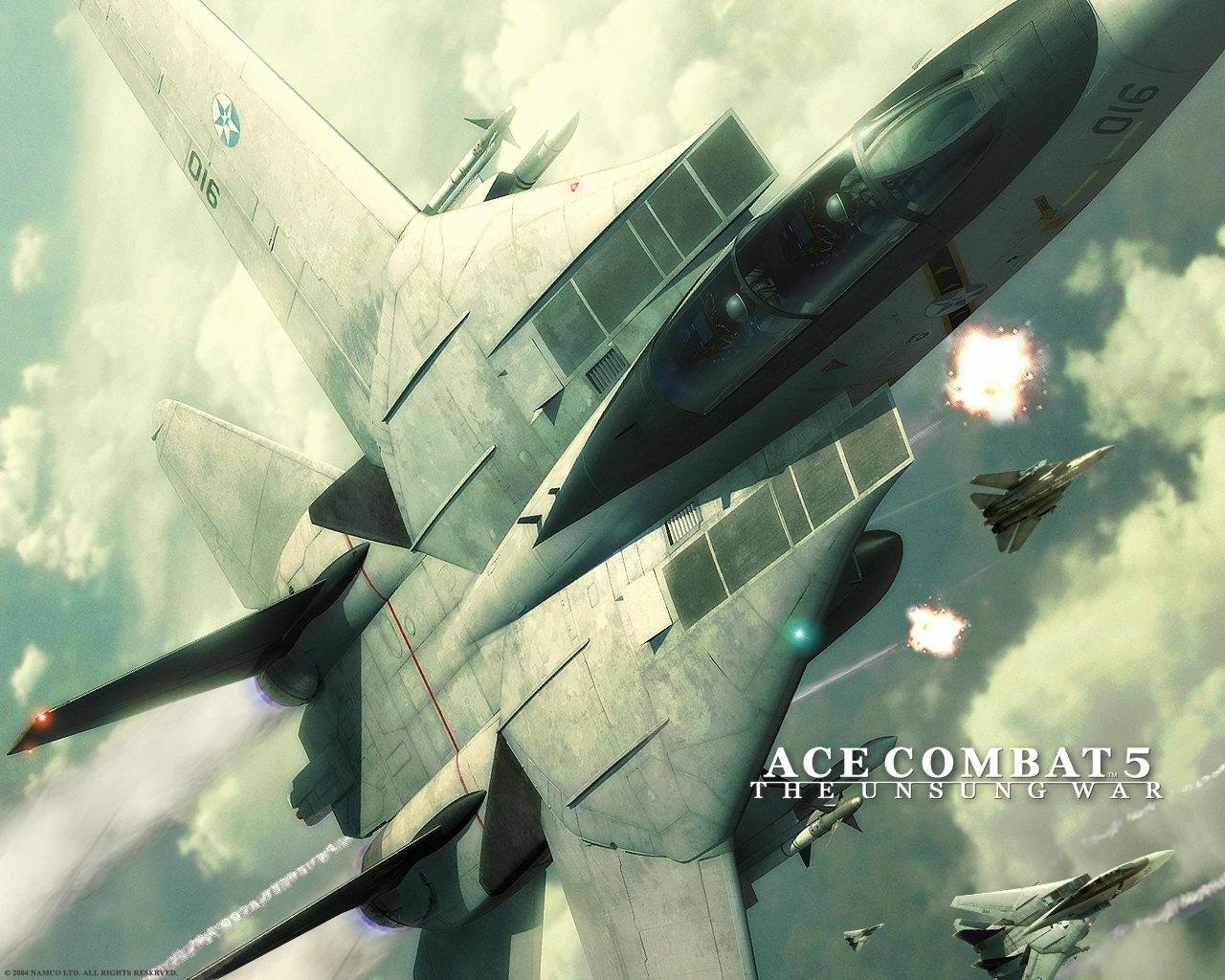 Ace Combat 5   Ace Combat 5 The Unsung War 1280x1024
