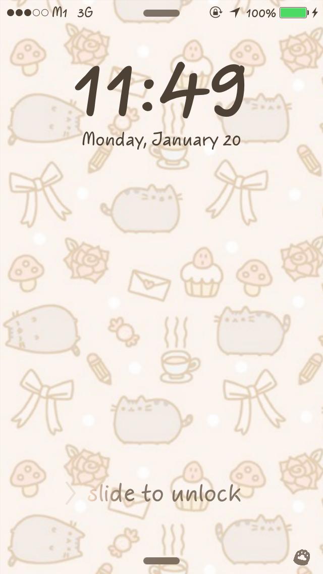 Pusheen Wallpaper Phone Iphone 4 iphone 5 wallpapers 640x1136