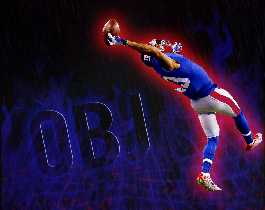 Odell Beckham Jr by OceanVisuals 1024x811