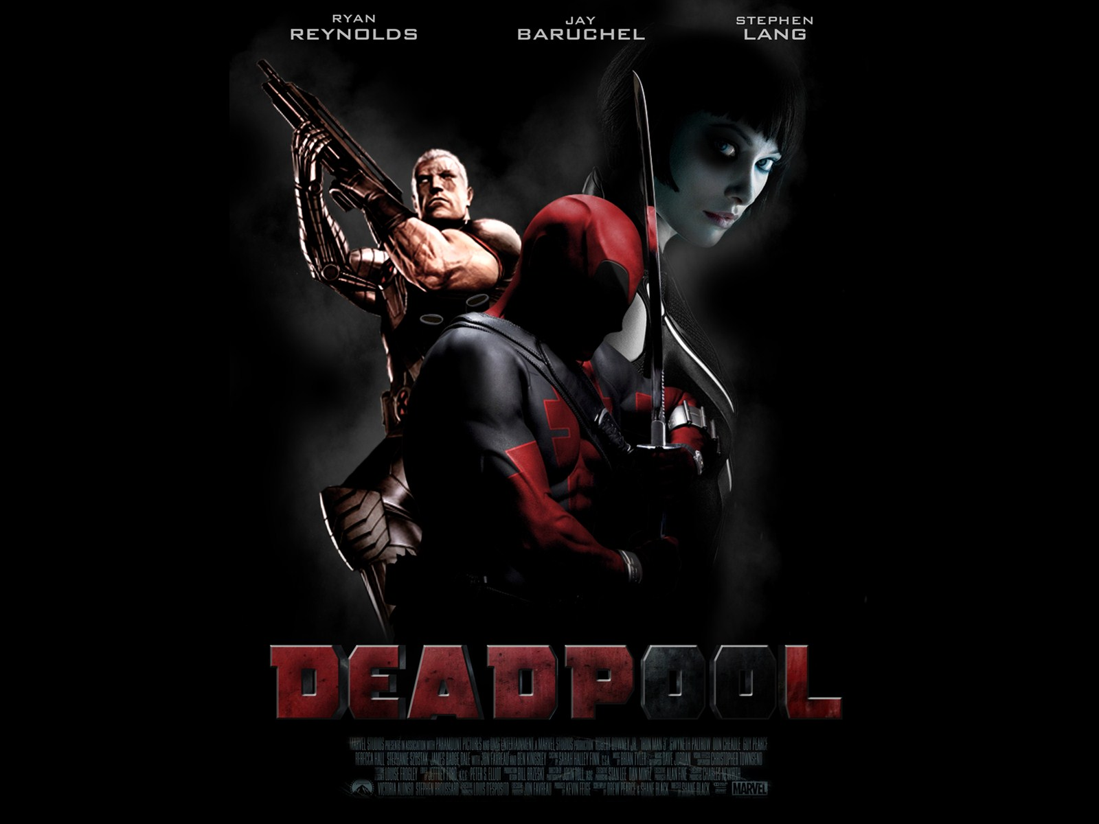 30 2015 By Stephen Comments Off on Deadpool Movie 2016 Wallpaper 1600x1200