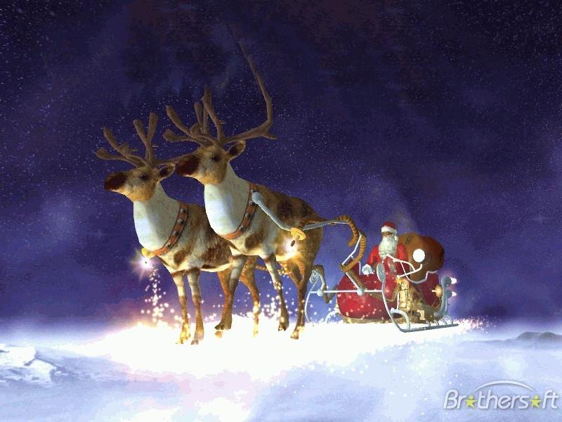 Download Santas Flight 3D Screensaver Santas Flight 3D 800x600