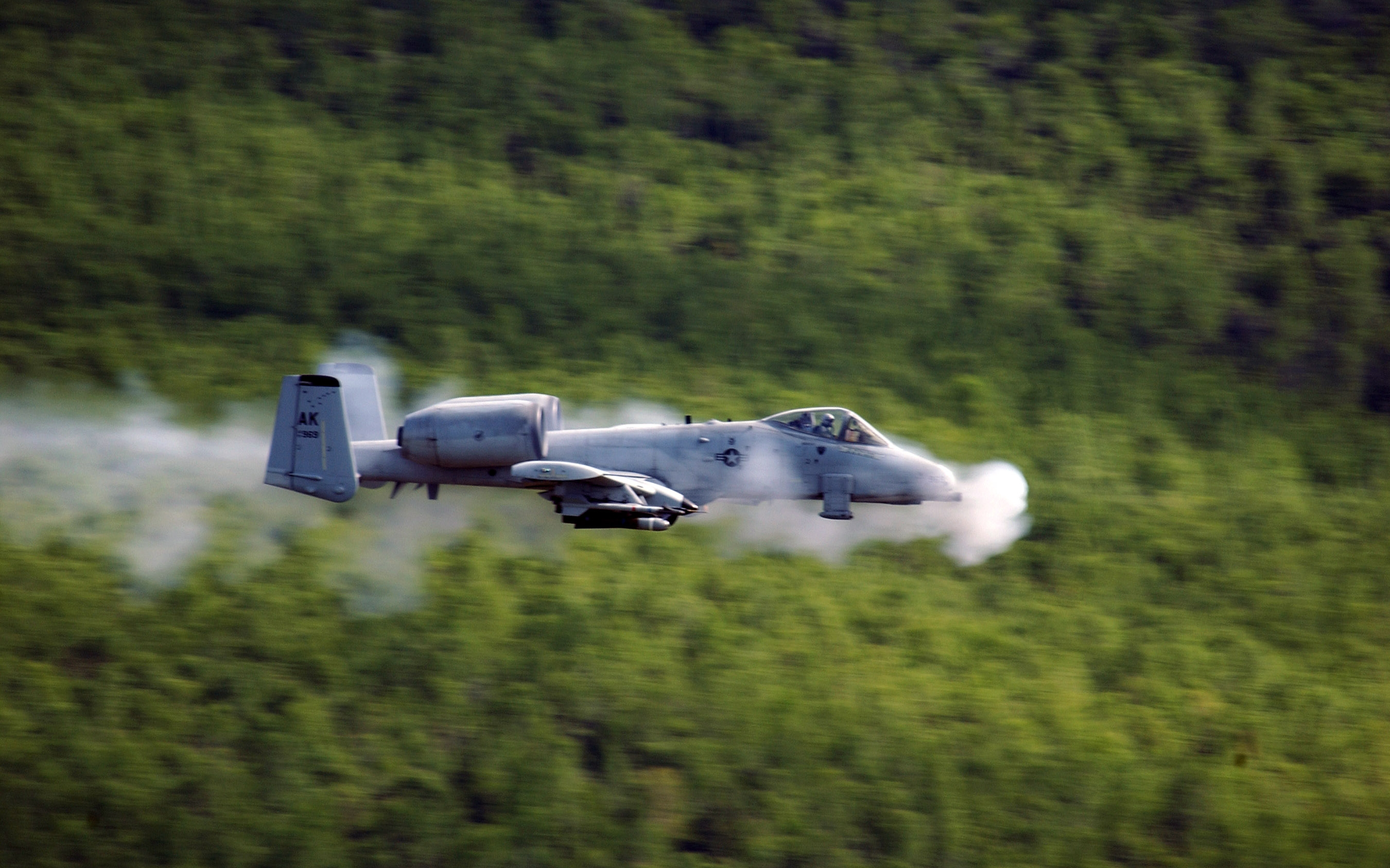 Fairchild Republic A 10 Thunderbolt II Full HD Fond d 2700x1687
