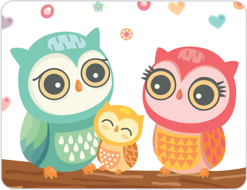 50+ Cute Cartoon Owl Wallpaper on WallpaperSafari