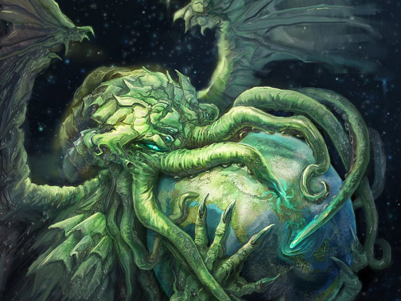 Free Download Cthulhu Wallpaper 1920x1200 Hd Walls Find