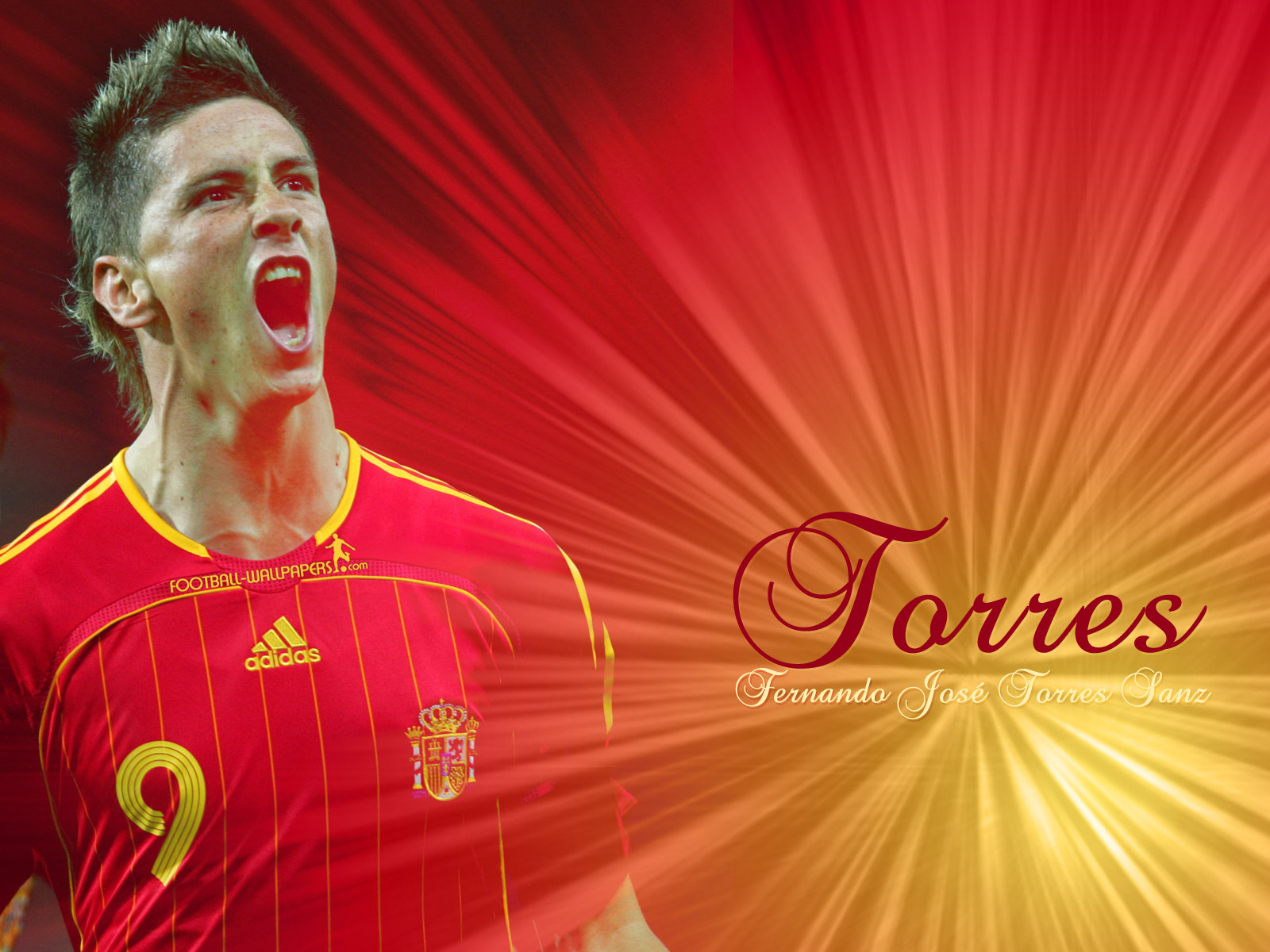 Fernando Torres Wallpaper 1 Football Wallpapers and Videos 1600x1200