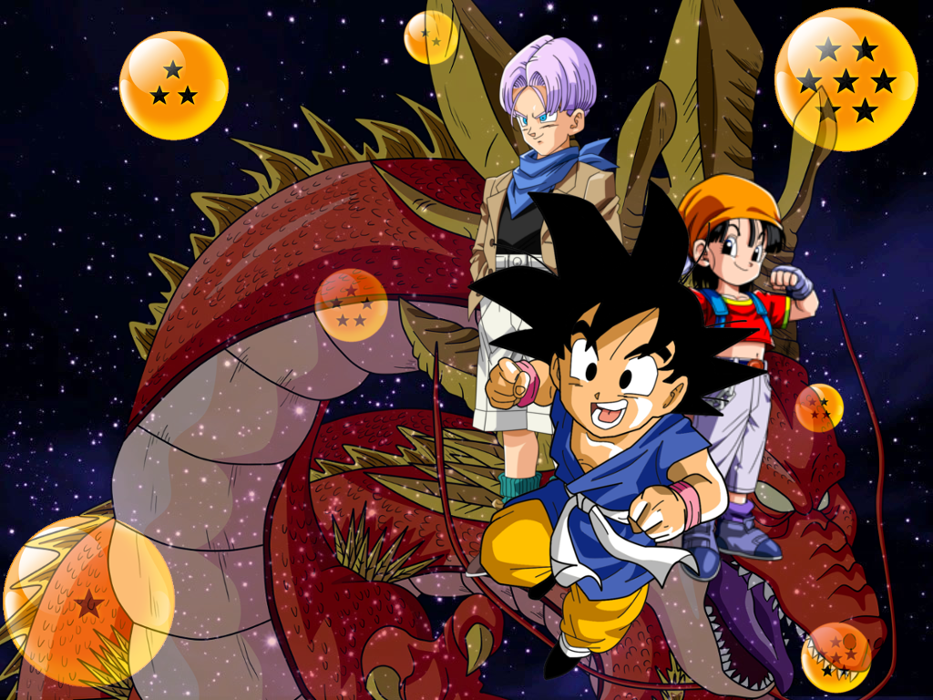 Wallpaper Dragon Ball Gt 1024x768