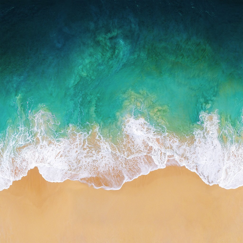 iOS 11 stock wallpaper Thnh Ly Flickr 1024x1024