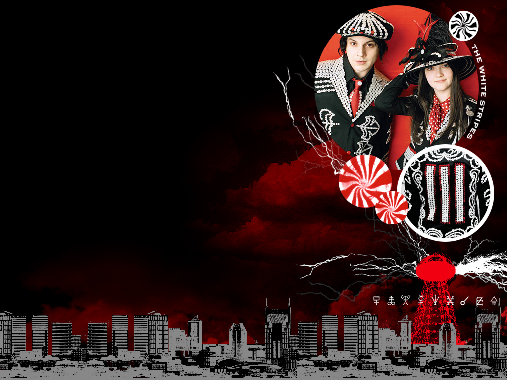 White Stripes   Wallpaper 2 by Bia 1024x768