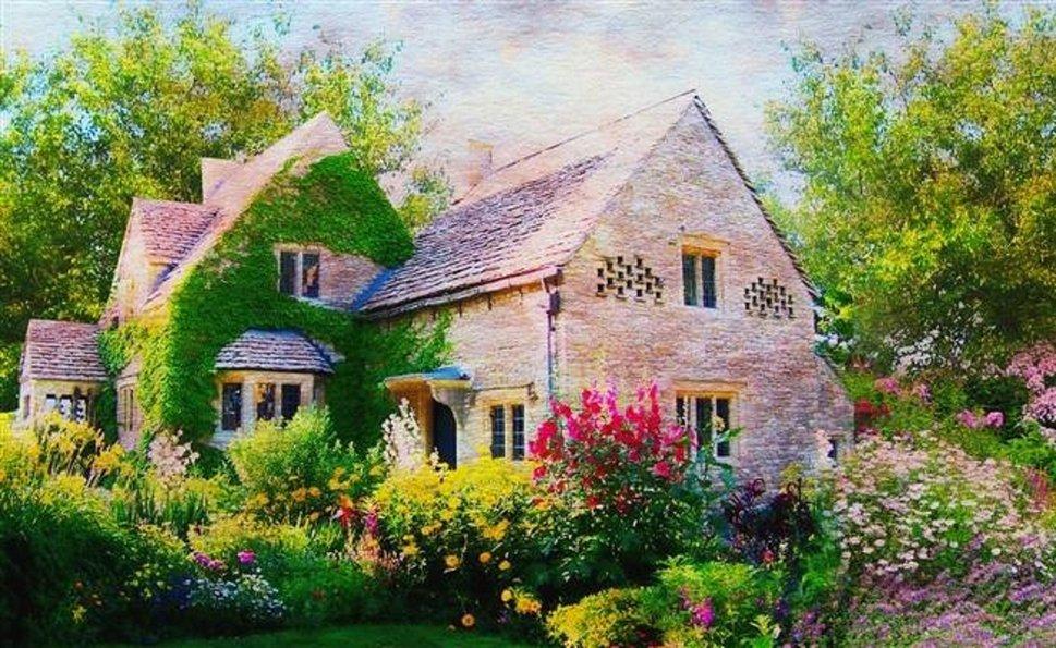 English Cottage Wallpaper English cottage wallpaper 969x595