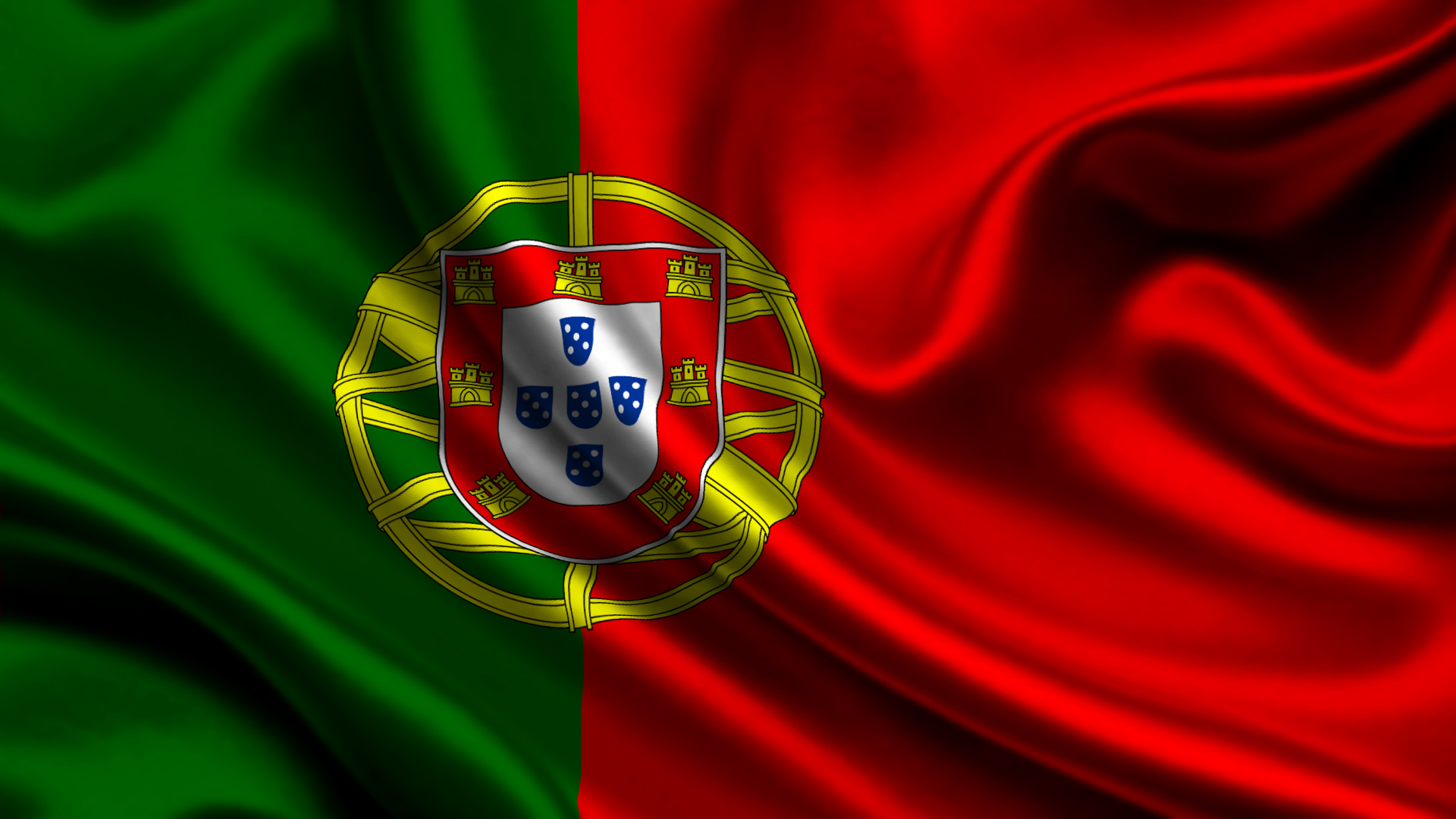Portugal Flag HD Wallpaper Background Images 1920x1080
