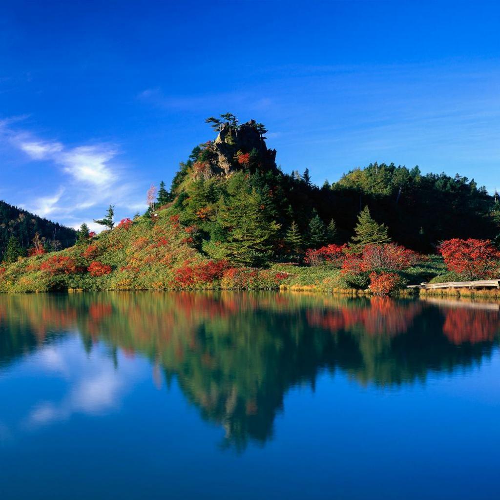 Beautiful Lake iPad Wallpaper Download iPhone Wallpapers iPad 1024x1024