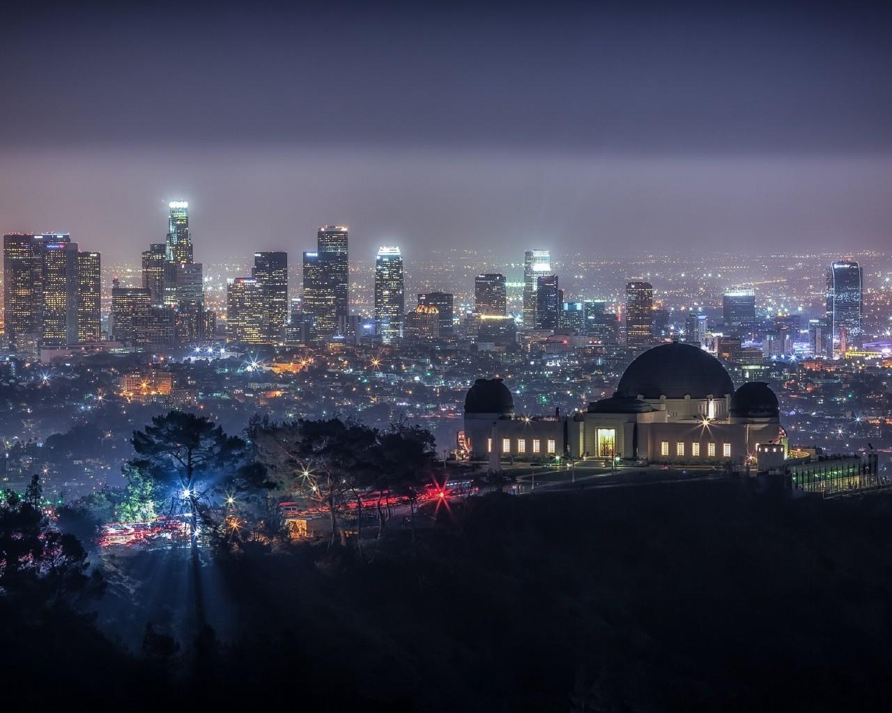 Wallpaper California Griffith Park Usa World PicsFabcom 1280x1024