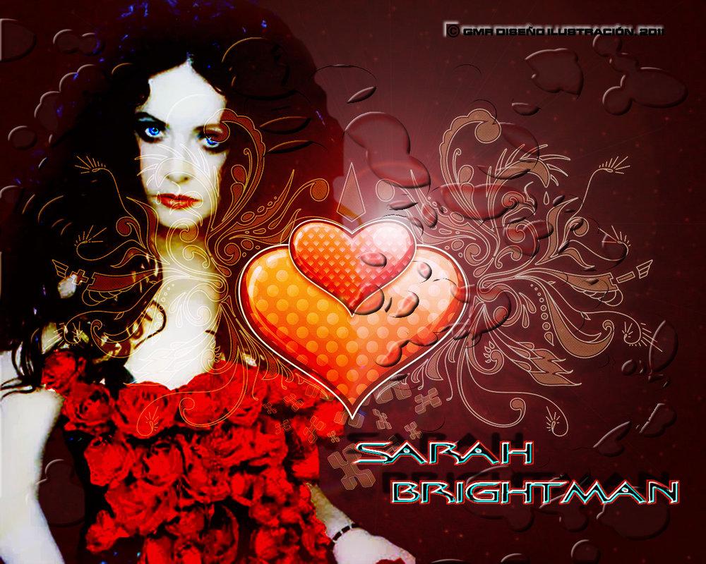 Sarah Brightman Wallpaper by rapaz555 1000x800