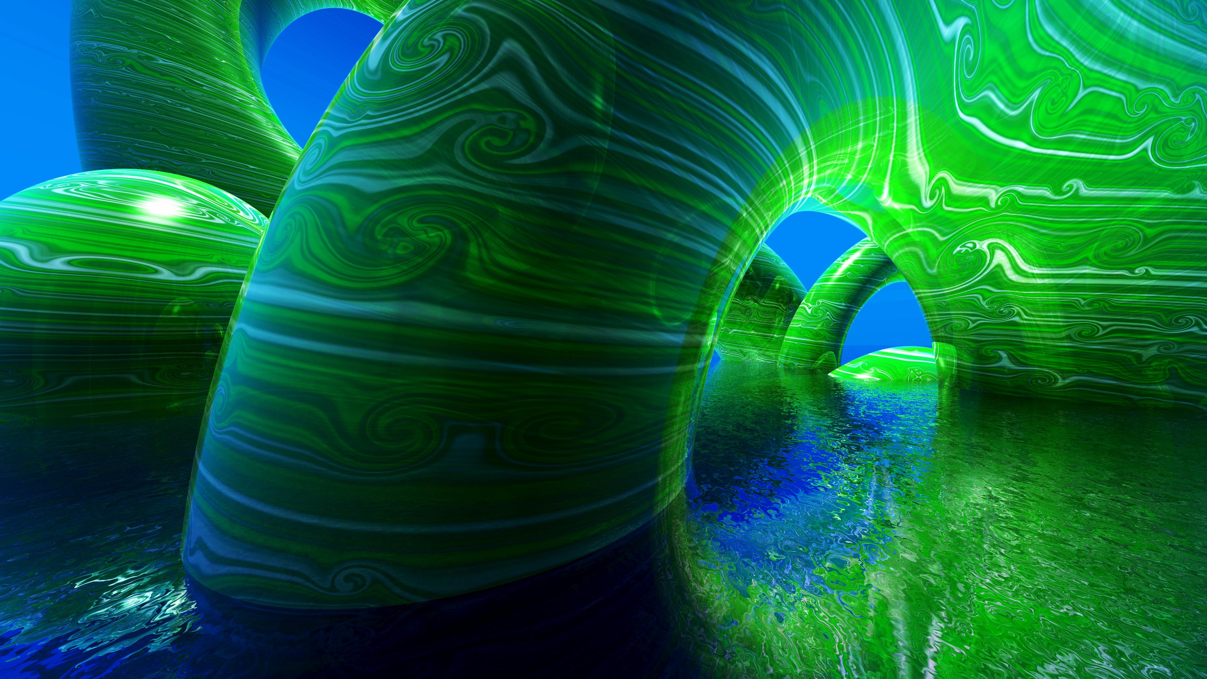 Blue Abstract 4K Wallpaper Full 1080p Ultra HD Wallpapers 3840x2160
