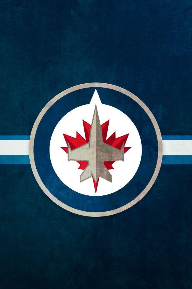 Pin Nhl Wallpapers Winnipeg Jets Logo 1920x1200 Wallpaper 640x960