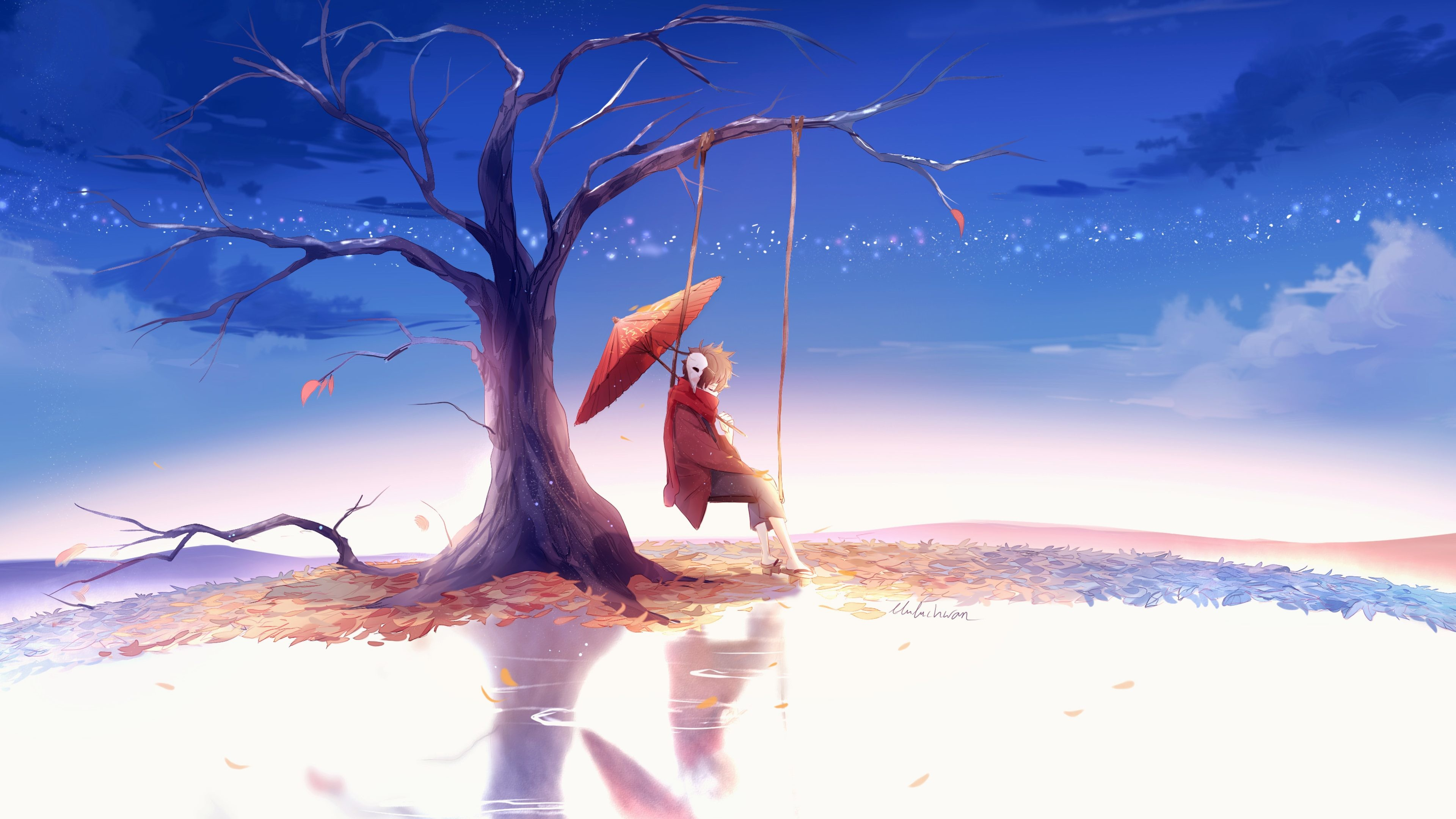 Sad Anime 763957   HD Wallpaper Backgrounds Download 3840x2160
