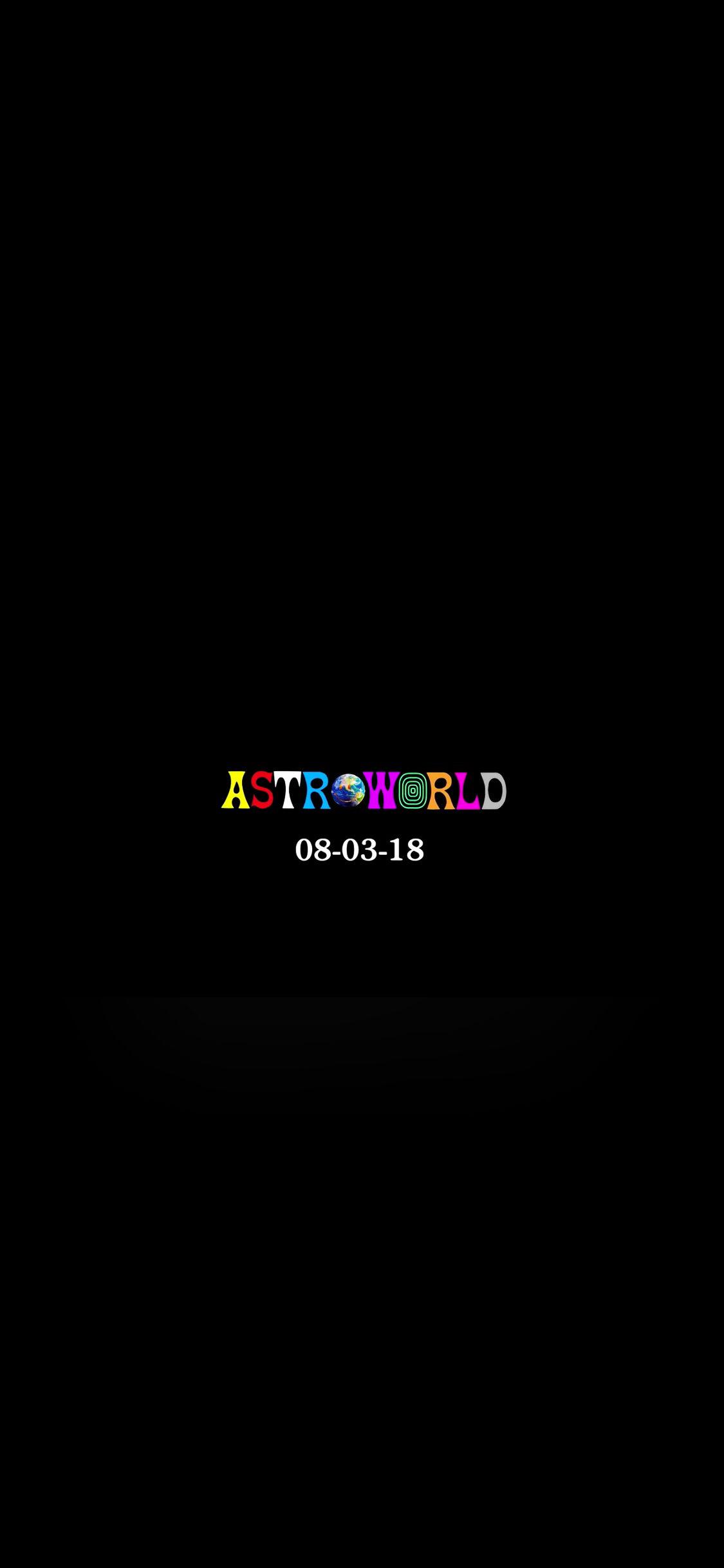 Astroworld Wallpaper from Apple Music trailer iPhone X   Imgur 1125x2436