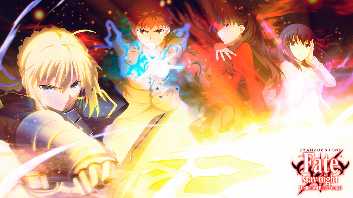 Free Download Wallpaper Fate Stay Night Unlimited Blade Works By