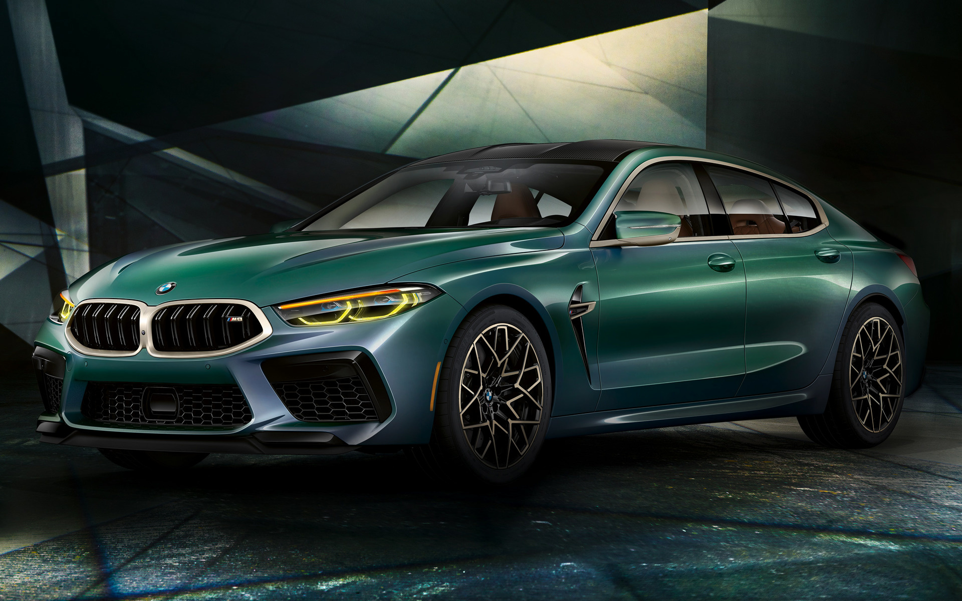 2019 BMW M8 Gran Coupe First Edition US   Wallpapers and HD 1920x1200
