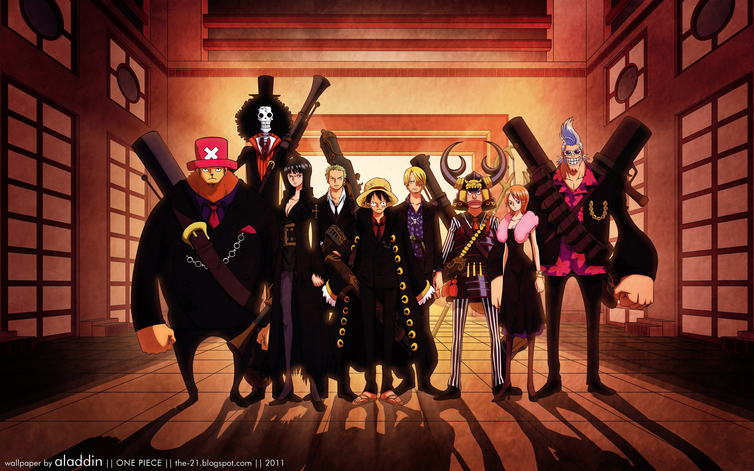 One piece Wallpaper 25601600 HD Desktop Wallpapers 2560x1600