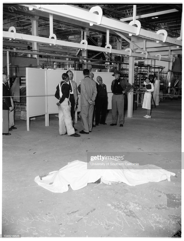 Douglas worker killed by fall 05 March 1952 Robert S Piller 782x1024