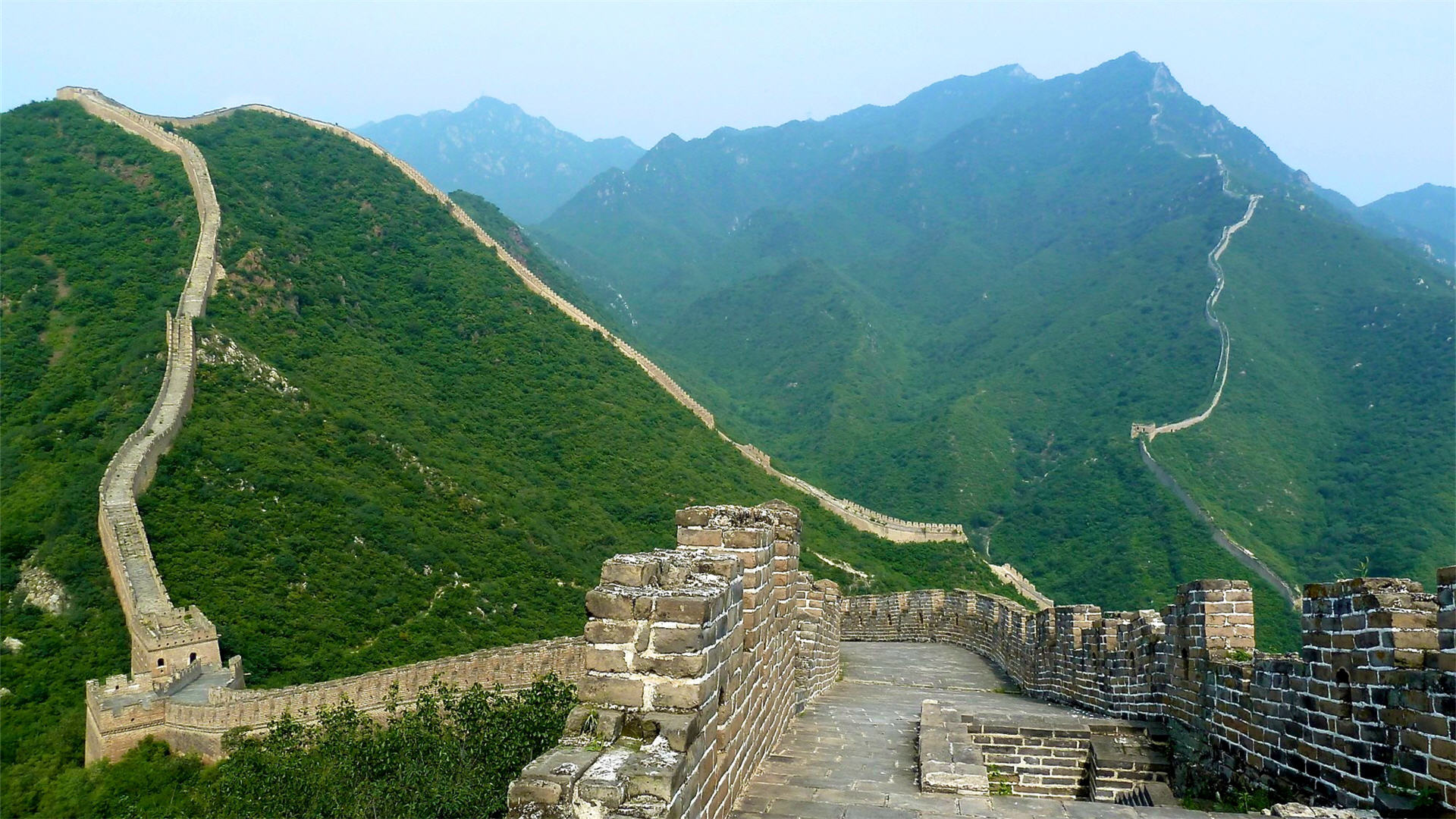Great Wall of China Original Wallpaper   Travel HD Wallpapers 1920x1080