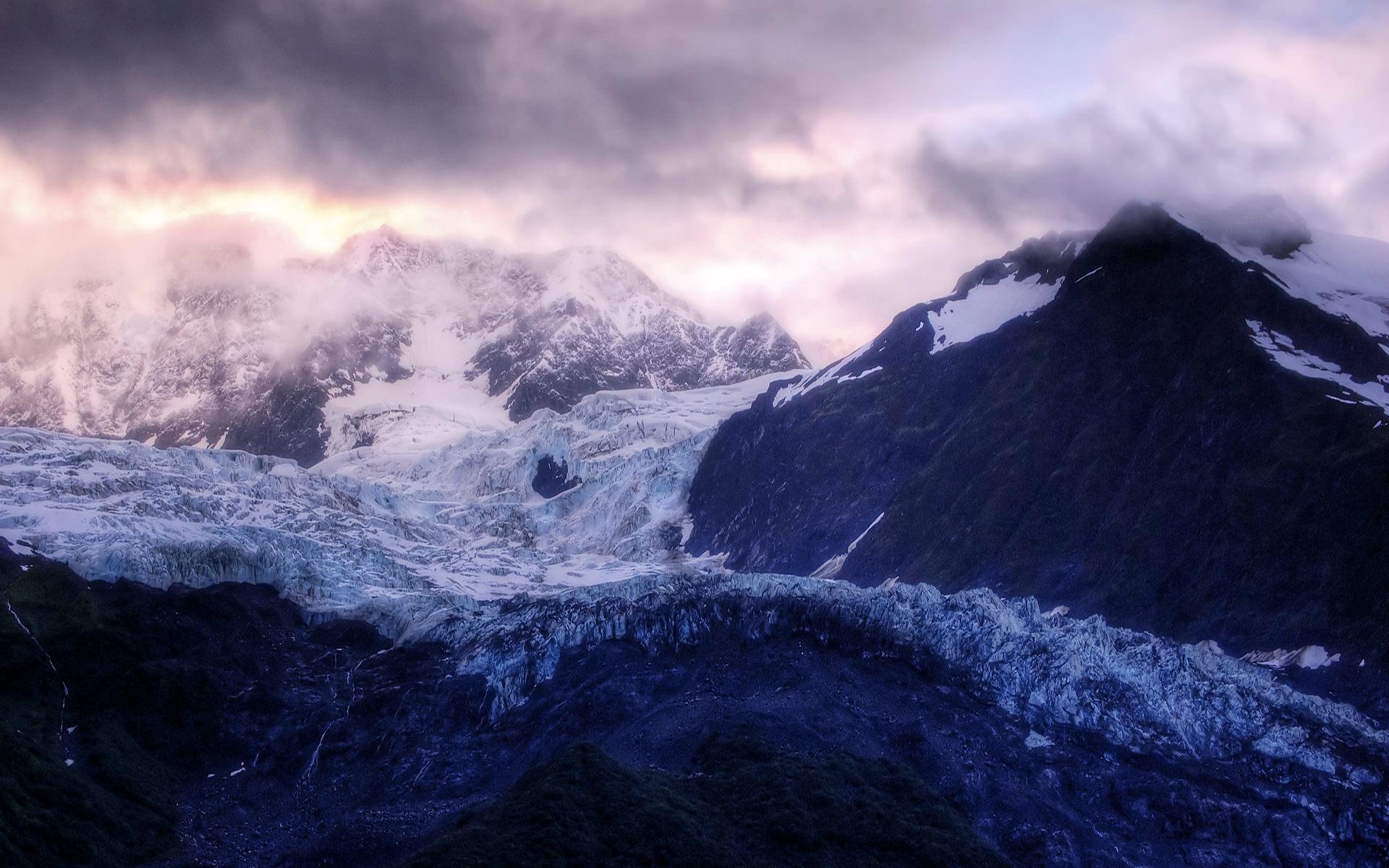 Winter Mountain Wallpaper 1920x1200 1920x1200
