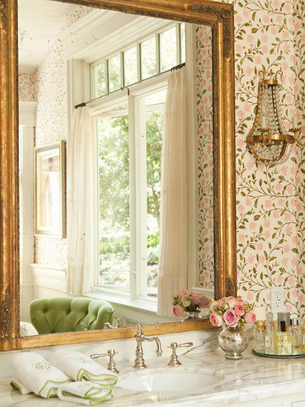 floral bathroom wallpaper 2015   Grasscloth Wallpaper 600x800