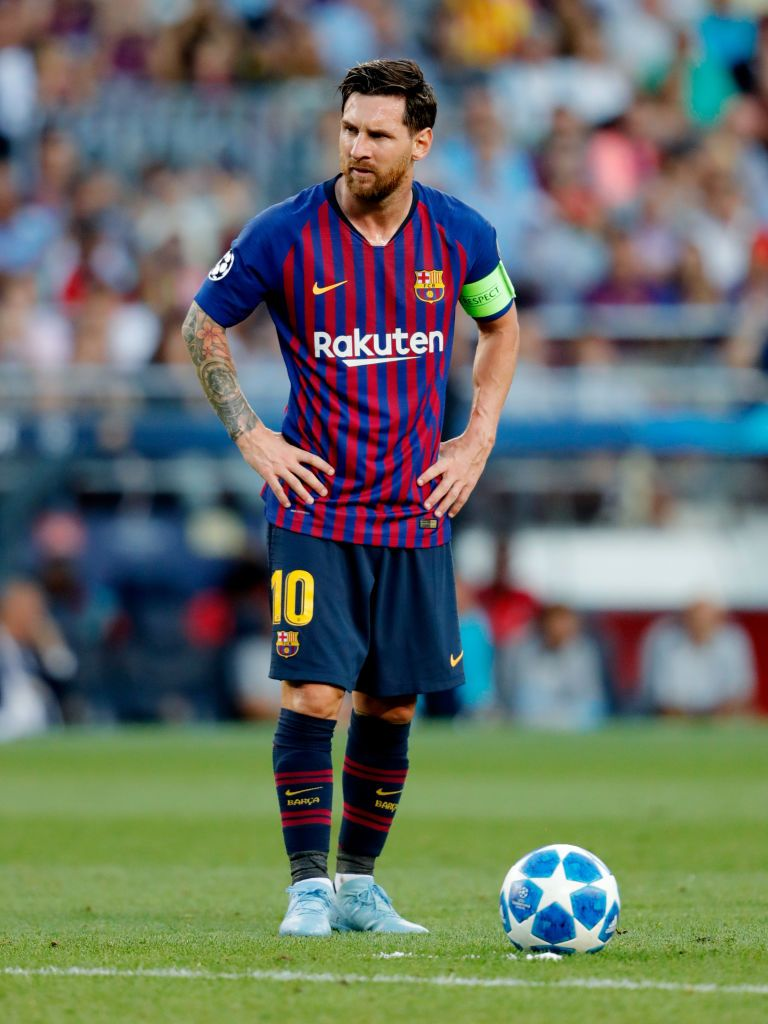 BARCELONA SPAIN   SEPTEMBER 18 Lionel Messi of FC Barcelona 768x1024