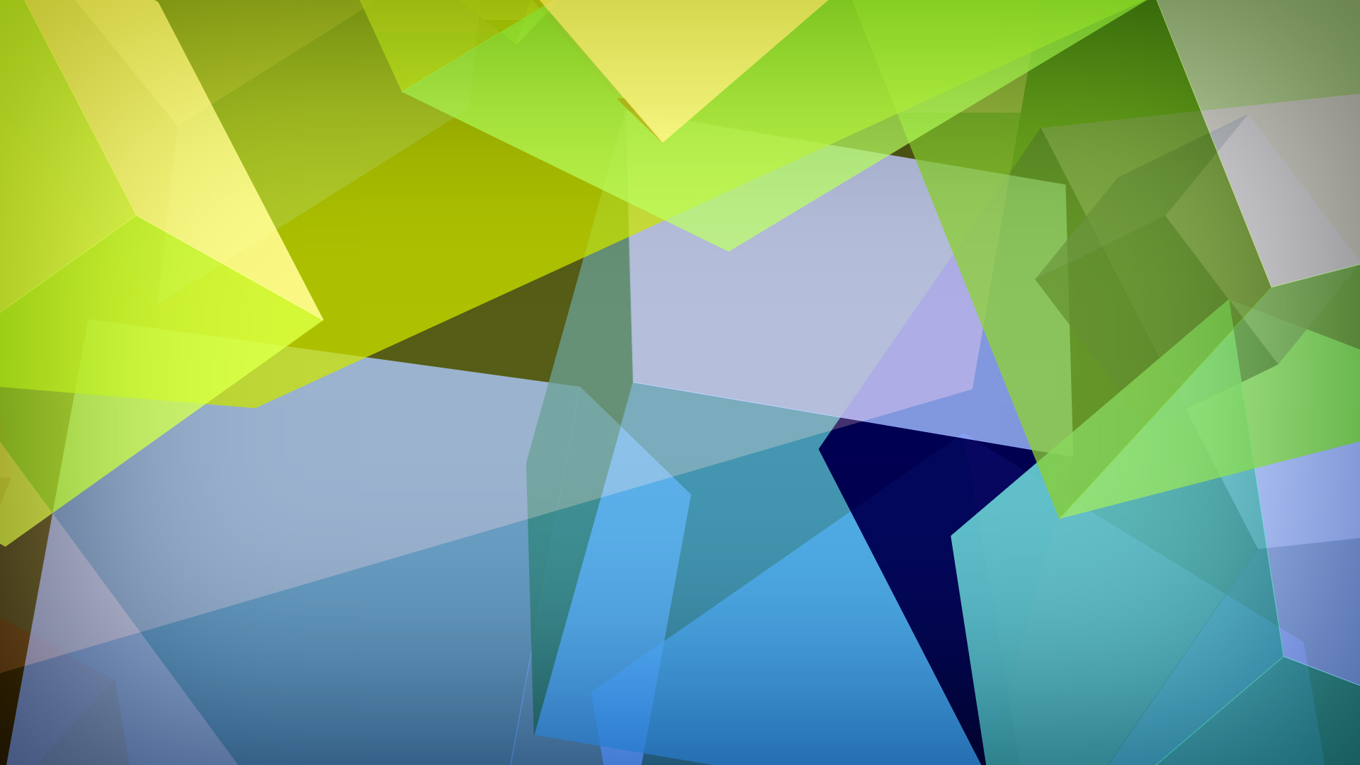 Abstract Geometric Colored Shapes desktop PC and Mac wallpaper 1920x1080