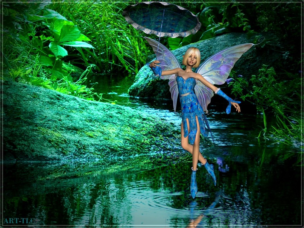 ... Collection: Wallpapers, Images, Screensavers: Free 3D Fairy Wallpapers