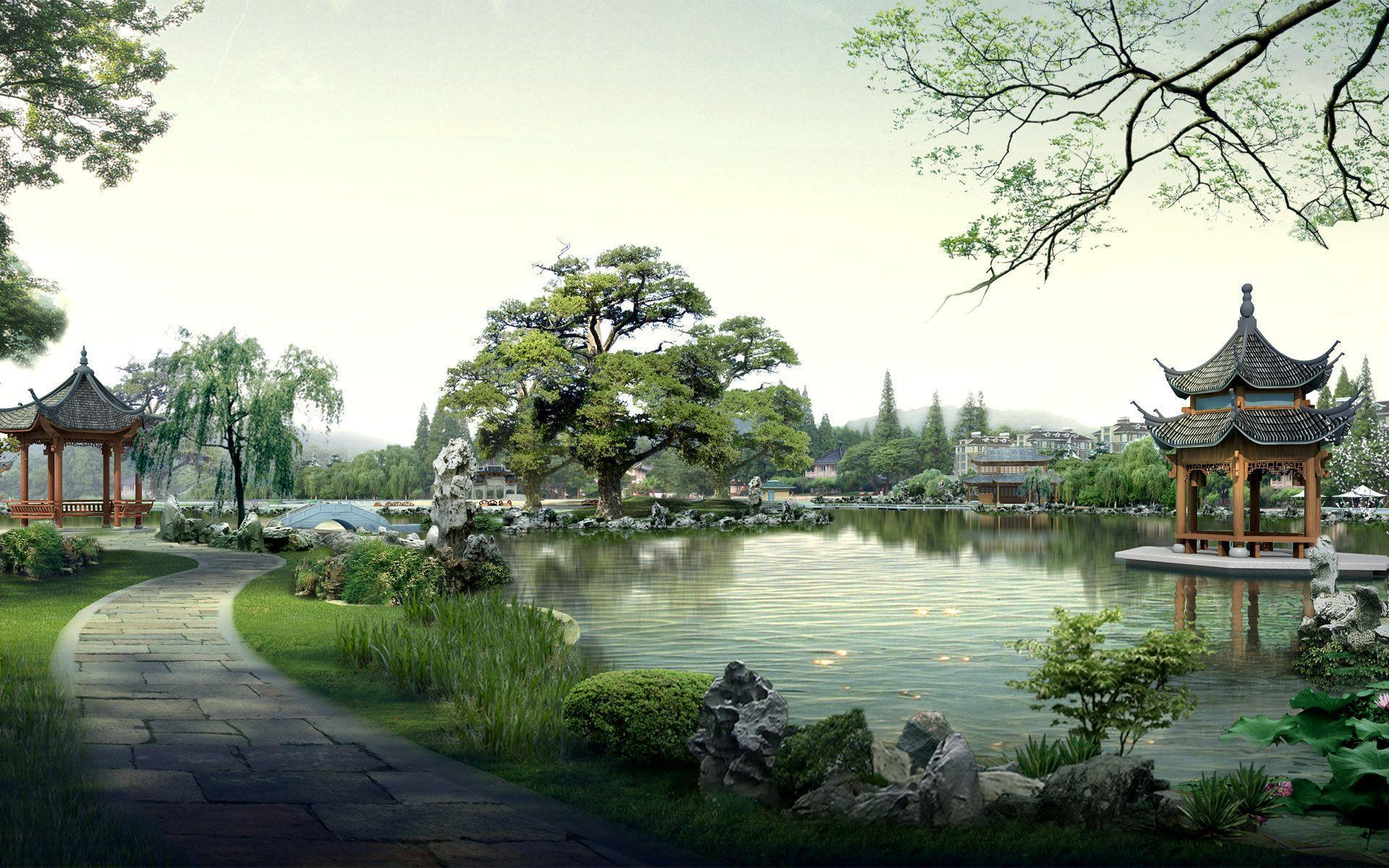 Japanese Landscape Wallpapers 1920x1200