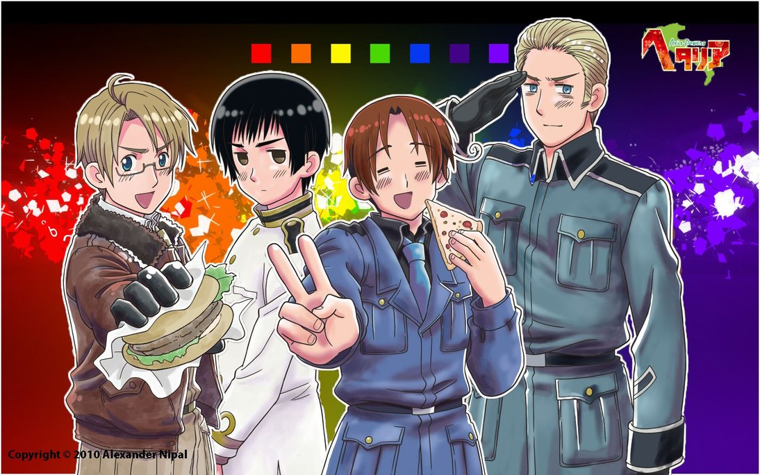 DeviantArt More Artists Like Hetalia Desktop Background by zlugmaster 1094x684
