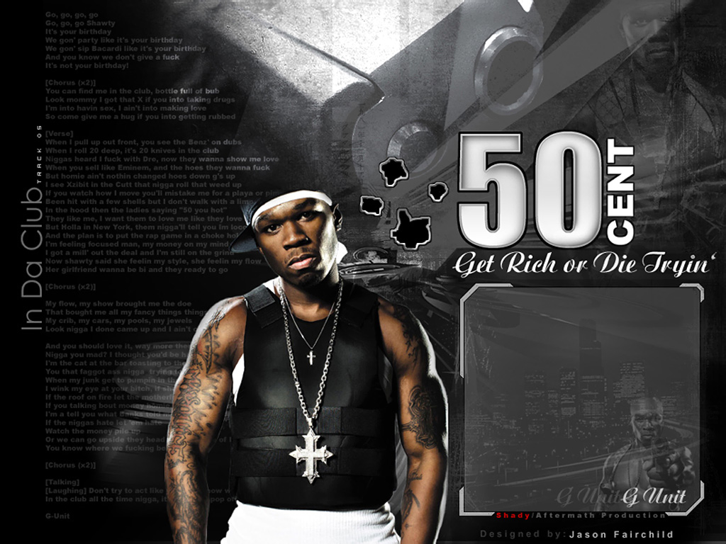 HQ 50 Cent G Unit 1 Wallpaper   HQ Wallpapers 1024x768